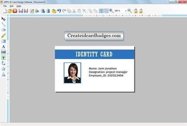 Windows 7 Create ID Card 7.3.0.1 full