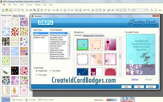 Windows 7 Greeting Cards Maker Software 8.3.0.1 full
